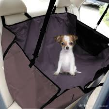 discount water proof pet car back seat cover dog cat safety