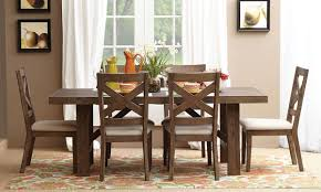 Dining Room Funiture Chair Acacia Wood Dining Table Reclaimed Trestle Room Chairs