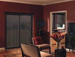 patio doors faux wood vertical blinds for patio doors ideas