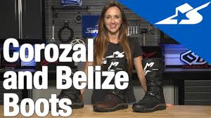 style motorcycle boots corozal and belize boots from alpinestars motorcycle superstore