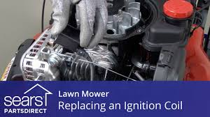 replacing the ignition coil on a lawn mower youtube