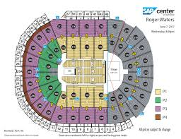 Rogers Centre Floor Plan by Roger Waters Sap Center