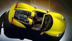 Porsche 918 Custom - the porsche 918 spyder looks absolutely stunning in yellow