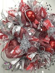 1973 best deco mesh wreaths images on
