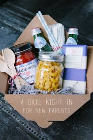 date basket at home date gift basket