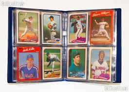 baseball card collecting starter set kit mlb with 6 baseball
