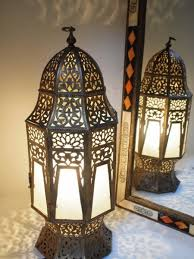 distressed gold moroccan table lamp base best inspiration for