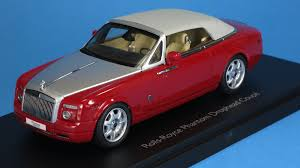 roll royce phantom drophead coupe kyosho 1 43 rolls royce phantom drophead coupe ensign red