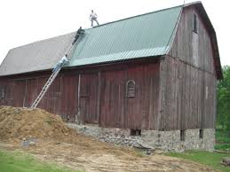 Gambrel Barns by Barn Roofs U0026 Corrugated Metal Roofing For Barns