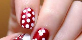 red and black archives nail art designs 2017