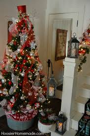 tree decorating ideas and silver rainforest
