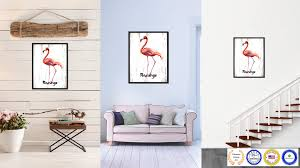 Blue Bird Home Decor Flamingo Bird Gifts Home Decor Wall Art Decoration Livingroom