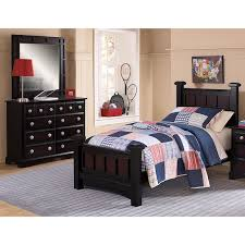 youth full bedroom sets the winchester youth collection ebony value city furniture and