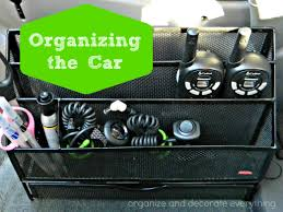 Organize Day 31 Days Of 15 Minute Organizing Day 23 Organize The Car