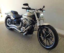 2014 harley breakout daymaker led headlight bikes pinterest