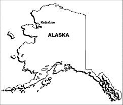 alaska flag coloring page
