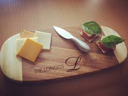 personalized cheese tray bamboo cutting board personalized cheese tray engraved