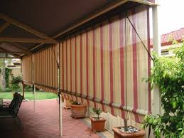 Roll Up Patio Blinds by Astounding Roll Up Shades Outdoor Patio From Dried Bamboo Sticks