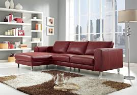 Contemporary Black Leather Sofa Sofa Red Sofa Set Riveting Red And Black Sofa Set Designs