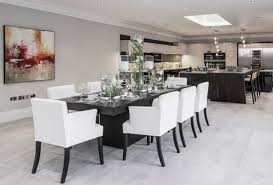 black table white chairs 20 dining table designs ideas design trends premium psd