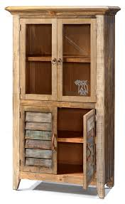Wooden Bookcase With Doors Hoot Judkins Furniture San Francisco San Jose Bay Area Artisan