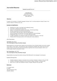 Resume Edit Format Peaceful Design Ideas Journalism Resume Examples 16 Media Cv