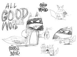 all good in the wood mural by london artist ronzo in wood street