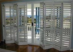Plantation Shutters For Patio Doors Bi Fold Plantation Shutters Can Be Installed With Or Without