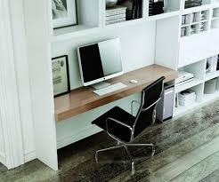 bureau bibliothèque intégré bibliothèque carré la sala avec plateau de bureau intégré