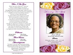 program for a memorial service funeral biography sle 17 best ideas about memorial service