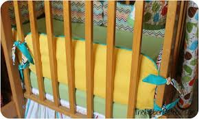 how to make crib bumpers the ribbon retreat blog