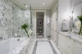 unique double white wall mount sinks marble master bathroom dark