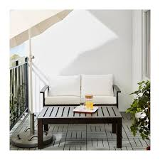 Ikea Outdoor Furniture Cushions by Kloven Kungso Loveseat 15 Affordable Ikea Patio Furniture And