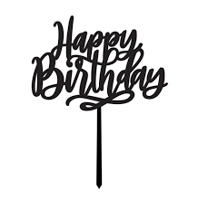 happy birthday cake topper happy birthday cake topper plum home design