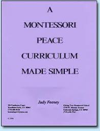 printable montessori curriculum peaceful character free montessori peace culture materials from