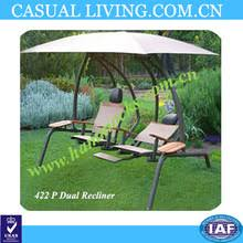 sunset swings 422sb dual reclining lounge swing sunset swings