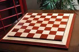 contemporaryii luxury chess board padauk birds eye 2017 including