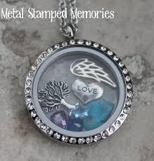 Custom Necklace Pendants Floating Lockets Living Locket Charms Memorial Necklace Metal