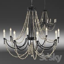 Corona Chandelier 3d Models Ceiling Light Gabby Percy Chandelier