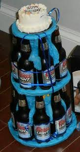 Birthday Cake For Him Beer Cake Diy Pinterest Birthday Cakes