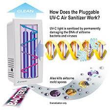 uv light to kill germs germguardian gg1100w elite pluggable uv c sanitizer and deodorizer