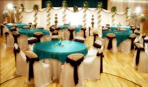 turquoise and brown wedding here are a few wedding decoration