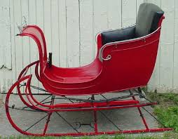 santa sleigh for sale sleigh carriage wagon and equipment rental