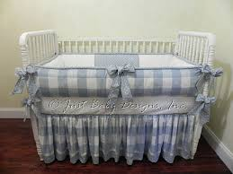 Custom Boy Crib Bedding Custom Baby Bedding Set Boy Baby Bedding Blue