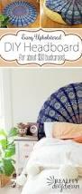 Diy Headboard Upholstered by Best 25 Tapestry Headboard Ideas On Pinterest White Wall