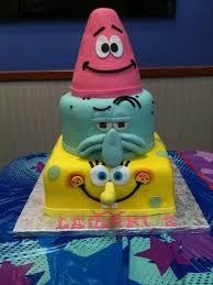 spongebob birthday cakes spongebob theme cake cakes and cupcakes for kids birthday party