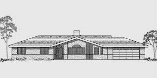 4 bedroom one house plans single level house plans ranch house plans 4 bedroom house plan