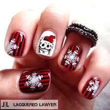 girlshue u2013 15 simples easy christmas nail art designs idées u2026 15