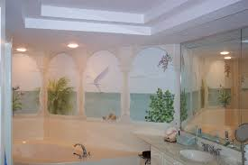 cute bathroom wall murals on small home decoration ideas with