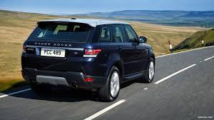 blue range rover 2014 range rover sport v6 supercharged loire blue rear hd